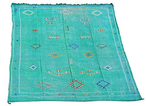 Kilim marocain Vert