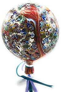 Globo colgante de cristal de Murano Murano Glass Made in Italy (Multicolor)