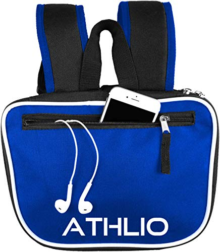 ATHLIO Gym Bag Backpack - Ball Equipment Pocket Sports Workout Travel Gear XL