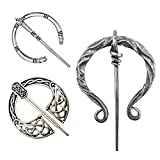 Slomg 3 Pack Vintage Viking Brooches Pins, Women Girls Scarf Cloak Shawl Buckle Clasp Pin ...