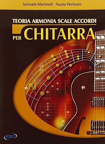 Teoria, armonia, scale, accordi per chitarra
