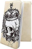 スマートフォンケース・VAIO Phone VA-10J・互換 ケース 手帳型 骸骨 骨 ロック ギター スカル ドクロ バイオフォン 手帳型スマートフォンケース・かっこいい VA10J VAIOPhone ユニーク おもしろ おもしろケース [Gic144426fQ]
