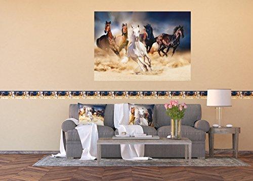 AG Design Selbstklebende Bordüre, Folie, Mehrfarbig, 500 x 14 cm