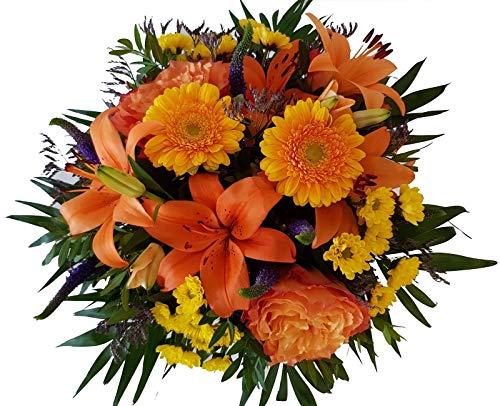 Flora Trans bunter Blumenstrauß Lieferung -Strahlemann-