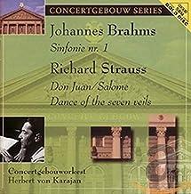 Brahms Sym No.1 Strauss Don Juan
