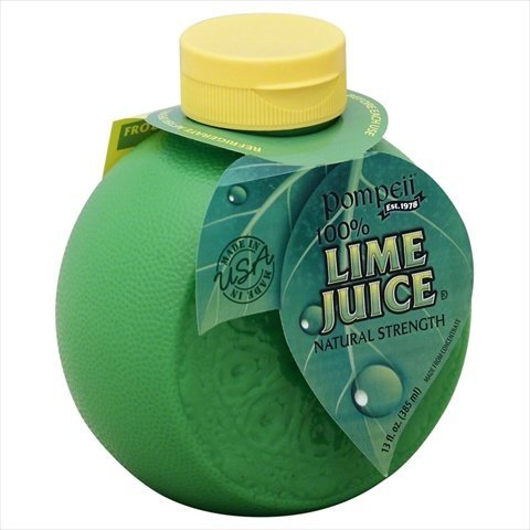 POMPEII JUICE LIME 100%-13 Ranking TOP3 OZ Max 53% OFF 12 -Pack of