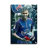 Neymar jr para Fondo Leinwand-Kunstposter und