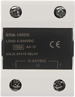 Keenso Solid State Relay, SSR 3-32V DC Solid State Relay BRM-60DD/80DD/100DD Control Communication SSR(100A)