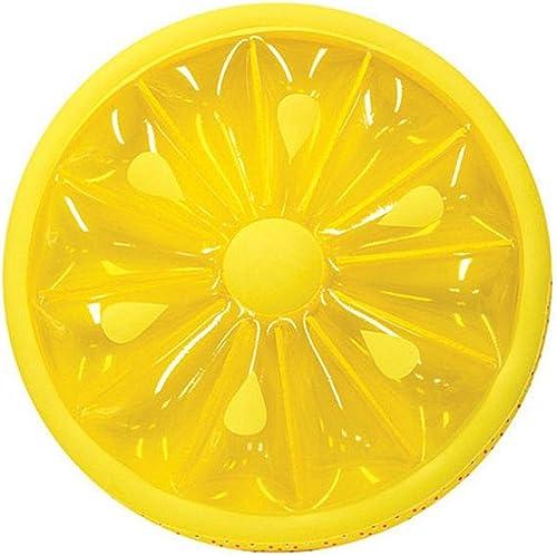 SHRCASE-SW Flotteur Gonflable pour Piscine d'été Jouet de Salon de Piscine de Flotteur de Flotteur de Tranche de Citron de Piscine résistante for la Parcravate de Bain d'été Jouets de fête sur la Plage