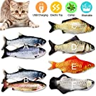 CHLEBEM Cat Toys for Indoor Cats Catnip Toys Interactive Cat Toy Kitten Toys Floppy Fish Cat Toy Cat Nip Catfish Flopping Teething Dancing Moving Fish Flops Kitty Toys Kicker Cat Supplies