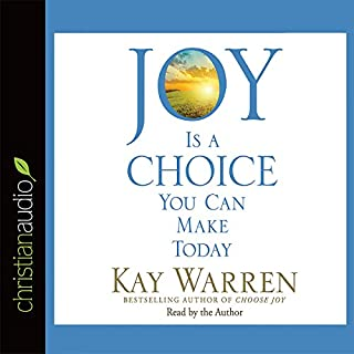 Joy Is a Choice You Can Make Today audiobook cover art