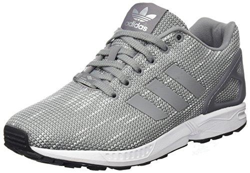 adidas Herren Zx Flux Laufschuhe, Mehrfarbig (Grey Two F17/grey Two F17/ftwr White), 43 1/3 EU