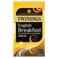 Twinings English Breakfast 125 g (order 4 for trade outer) / トワイニングイングリッシュブレックファースト125グラム(商品アウター用4次)