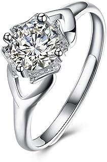 Lozse Anelli regolabili S925 argento anello aperto regolabile