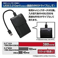 センチュリー システムクローンソフトウェア付2.5インチSATA to USBアダプタ 『裸族の頭 HDD/SSD引越キット』 CRAHK25U3