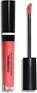 COVERGIRL Melting Pout Matte Liquid Lipstick, Coral Chronicles, 0.11 Pound (packaging may vary)