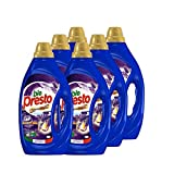 Bio Presto Liquido, Detersivo Lavatrice Liquido, Aromaterapia alla Lavanda, confezione risparmio 6 x...