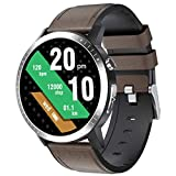SPOREX SG5 Smart Watch Health Focused Heart Rate, Blood Pressure & Blood Oxygen Monitor, Fitness Tracker, Smartwatch Android Phones and iPhone Compatible; Waterproof; Sport Smartwatch for Men & Women