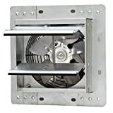 iLIVING ILG8SF7V Shutter Exhaust Fan, 7' - Variable, Silver