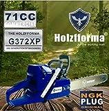 71cc Holzfforma G372XP Gasoline Chain Saw With 24 Inch Bar and Chain