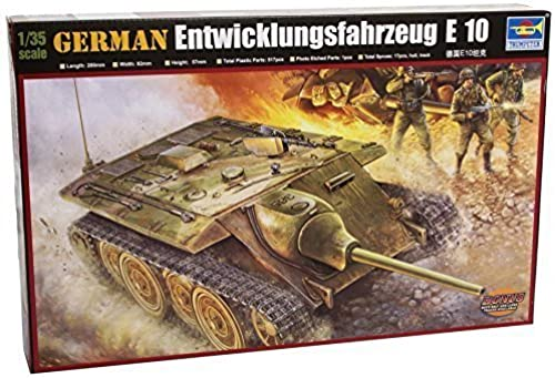 Trumpeter 385 Model German E-10 Tank by Trumpeter