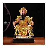 WQQLQX Statue TOTA Himmlischer König Li Jing Statue Harz Skulptur Buddha Statue Handgeschnitzte Figuren Home Möbelschmuck Büro Dekoration Geschenke Skulpturen