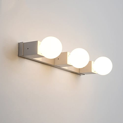 GYR Wall Lamp Creative mode Mirror Cabinet lumière Wall Lamp Simple imperméable Fog Bathroom Bathroom Bedroom LED Moisture - Proof Mirror Headlumières