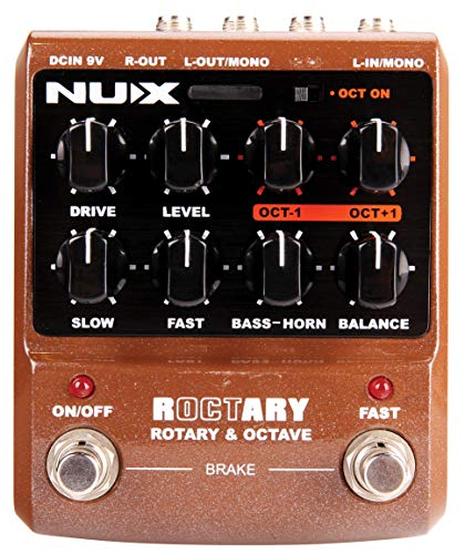 NUX | Roctary Effects Pedal | Guitar Stomp Box