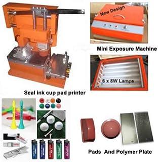 GOWE mecanográfica taza manual tampografía máquina con accesorios
