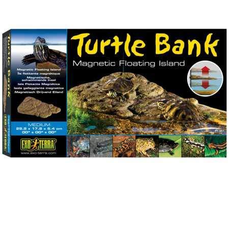 Exo Terra magnetisch schwimmende Landfläche für Wasserschildkröten, medium