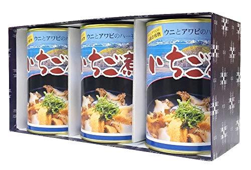 いちご煮缶詰(ハーモニー)3個箱入り包装ギフトセット
