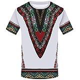 Camisetas Hombre Riou Camisas de Manga Corta con Cuello Redondo y Estampado Retro Tops de Verano Elegante Polos de BáSica Camiseta Blusa Casual