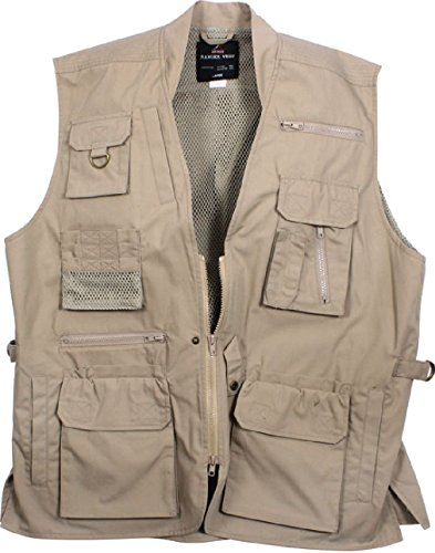 Read About Multi-Pocket Cargo Tactical Plainclothes Concealed Carry Travel Vest