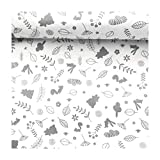 4L Textil Baumwollstoff 100% Stoff Meterware Kinderstoff