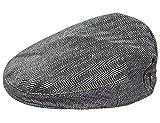mintgreen Gorra Tweed Infantil Sombrero Espina de Pescado, Gris Oscuro, 4-5 años (Tamaño del Fabricante: 54)