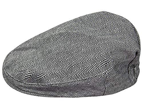 mintgreen Gorra Tweed Infantil Sombrero Espina de Pescado (Gris Oscuro, 4-5 Años)