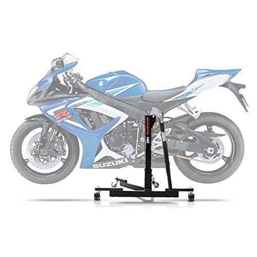 ConStands Power Evo-Zentralständer Suzuki GSX-R 750 06-07 Schwarz Motorrad Aufbockständer Montageständer Heber