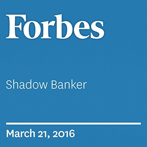Shadow Banker audiobook cover art