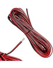 10 meter 22AWG elektrische draad rood en zwart elektrische draad kabel strengen vertind koperdraad zacht en flexibel voor enkelkleurige ledstrips en elektronische bedrading
