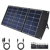 TWELSEAVAN 60W Portable Foldable Sunpower Solar Panel Charger for Jackery Explorer 160/240/500 Power Station/Suaoki/Goal Zero...