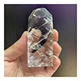 KAUG Cristal Afortunado Cristales netales Rainbow Clear Palom Cuarzo Palm Energy Reiki Habitación de Piedra Hogar Oficina Aquarium Decoración Accesorios Piedra preciose (Size : 170-180g)