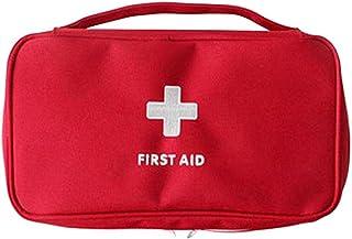 CHESHTA Travel First Aid Pouch - Emergency Medicine Kit Box - Storage Case Organizer Pouch Bag - Sports-Gym-Outdoor - Medi...