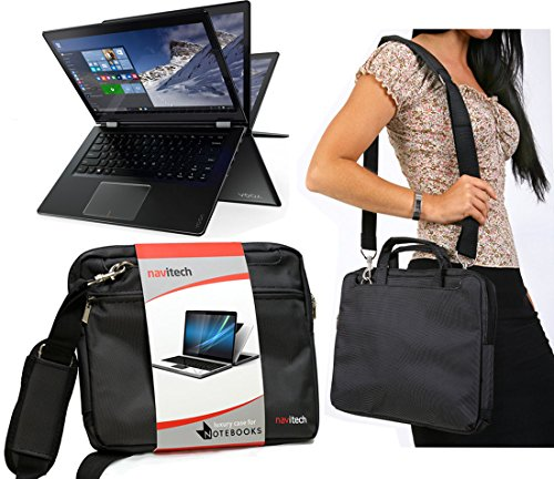 Navitech Schwarze Prime Laptop/Notebook/Ultrabook Case/Tasche für das Lenovo IdeaPad MIIX 700 Business Edition Hybrid Tablet