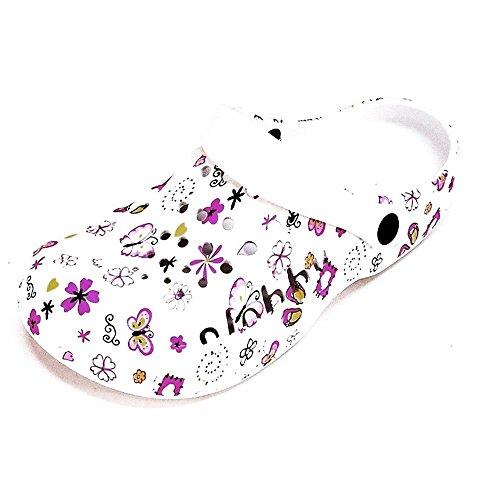 Clogs 112D - Zapatillas de estar por casa para mujer, color, talla 41 EU