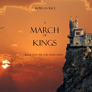 A March of Kings audiobook cover art