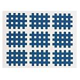 Dibiao Cross Sports Tape 20pcs/Set Cinta azul Kinesiología...