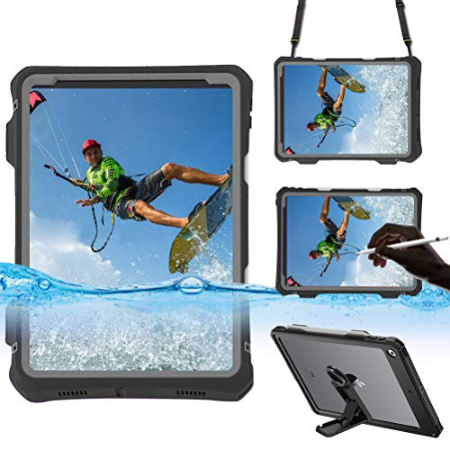 Compatible with iPad Pro 11 inch 2020 Waterproof Case,Lfdygcd IP68 Full Body Protection Built in Screen Protector Shockproof Snowproof Dustproof Tablet Cover for iPad Pro 11 inch 2020