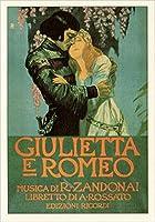 I.F.I ポストカード OPERA オペラ ジュリエッタとロメオ ROMEO O115