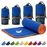 Asciugamani in microfibra – 16 colori, varie misure – compatto e ad asciugatura rapida...