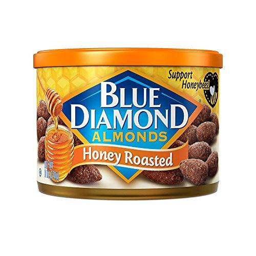 Blue Diamond Almonds, Honey Roasted, 6 Ounce